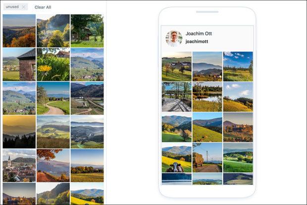 Vorausplanung Deiner Instagram Beiträge spart Zeit und die Übersicht ermöglicht eine ansprechendere Gestaltung Deines Feeds.