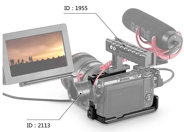 Bringt Monitor, Mikro und ein Top-Handle an die M6.