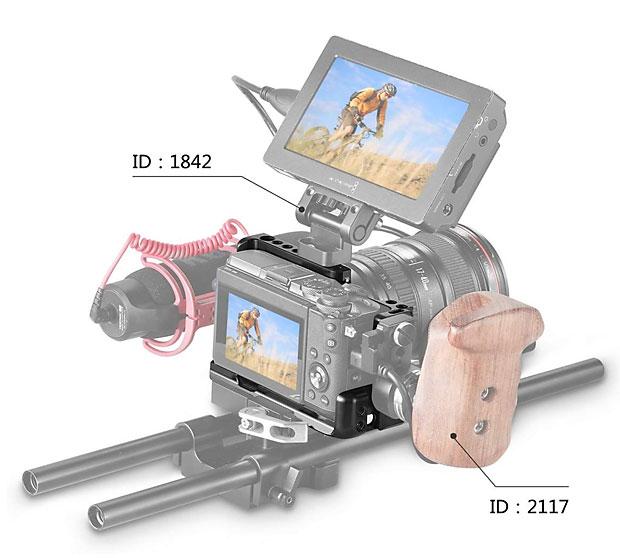 Reizvoll vor allem für Video: Ein kleines kompaktes RIG für die EOS M6 Modelle.