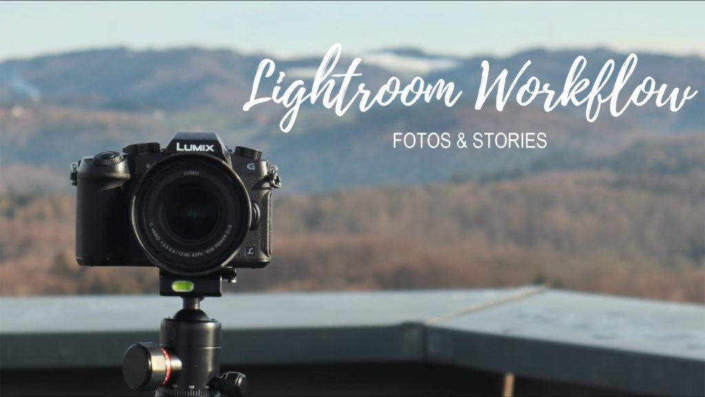 Lightroom Workflow für Instagram Fotos und Stories schneller machen