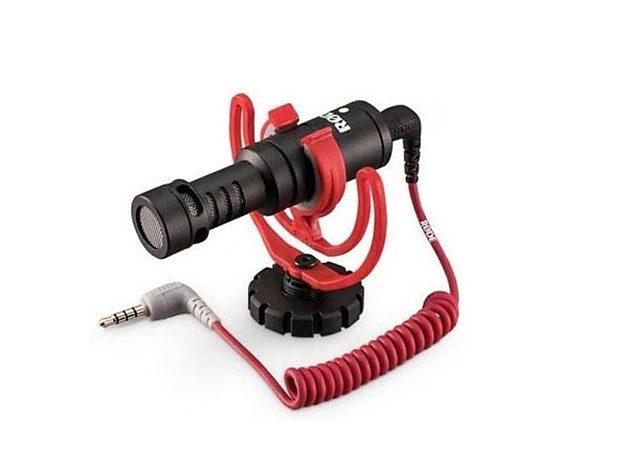 Für Video unentbehrliche: Das Mikrofon, das an der M6 mit dem Klappdisplay hadert.