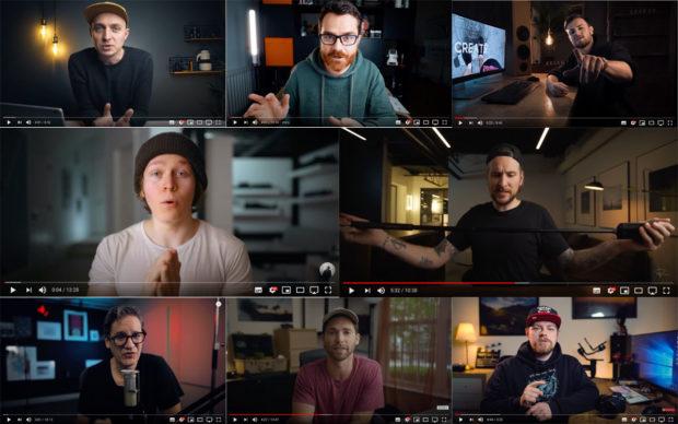 Youtube Video-Beleuchtung: Viele Youtuber setzen sich gerade bevorzugt in dunkler Umgebung in Szene.